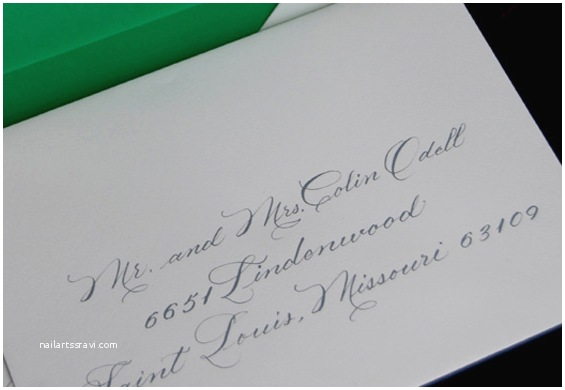 Wedding Invitation Envelope Address Template Proper Etiquette for Addressing Wedding Invitations