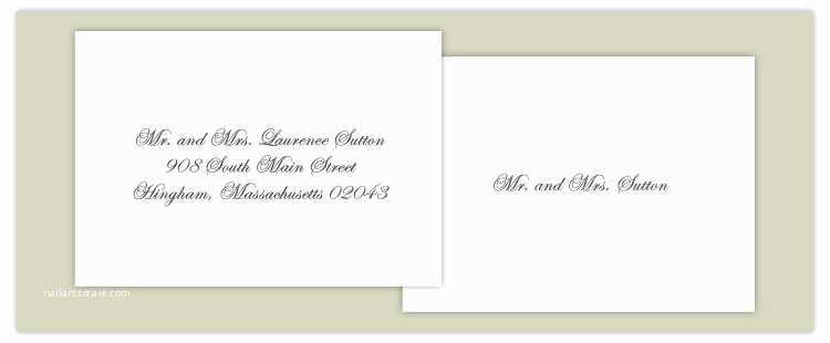 Wedding Invitation Envelope Address Template Proper Way to Address Wedding Invitations – Gangcraft