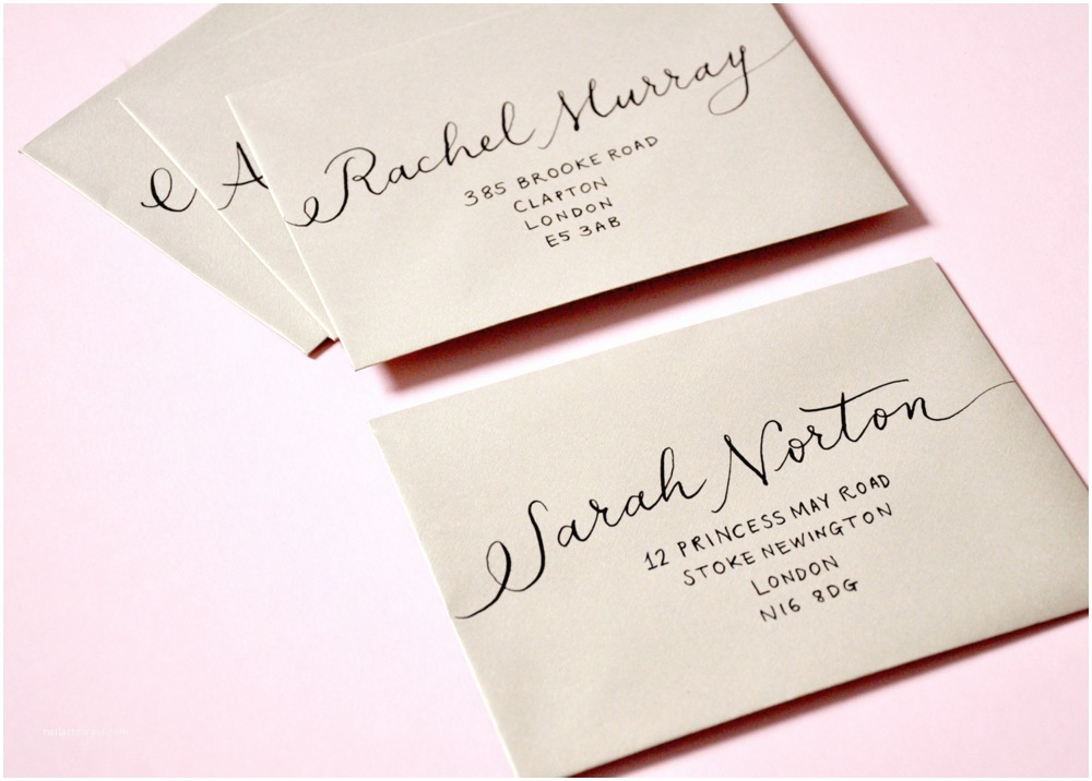 Wedding Invitation Envelope Address Template there is so Much Etiquette that Goes Into Addressing Your