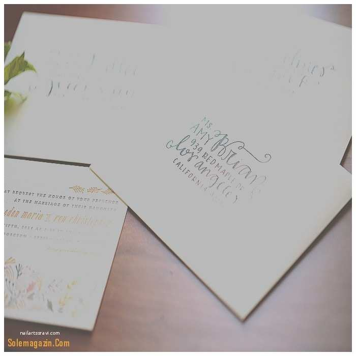 Wedding Invitation Envelope Size Wordings How to Address Wedding Invitations without An I