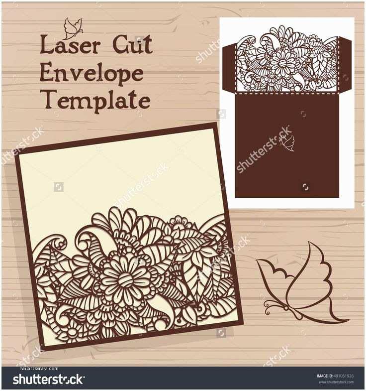 Wedding Invitation Envelope Template 250 Best Cards Images On Pinterest