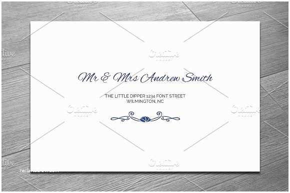 Wedding Invitation Envelope Template Wedding Invitation Envelope Template Beautiful Template