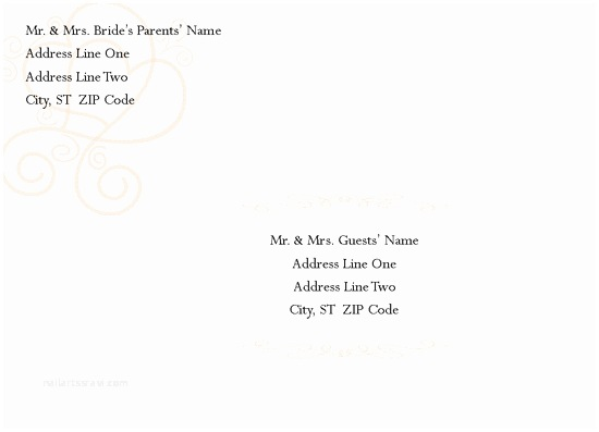 Wedding Invitation Envelope Template Wedding Invitation Wording Wedding Invitation Envelope