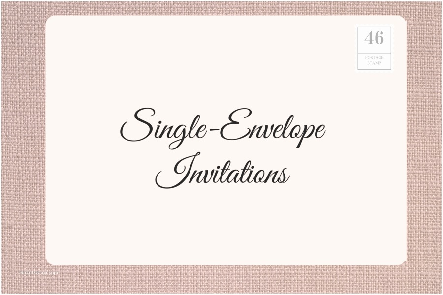 Wedding Invitation Envelope Wording How to Address Wedding Invitations southern Living