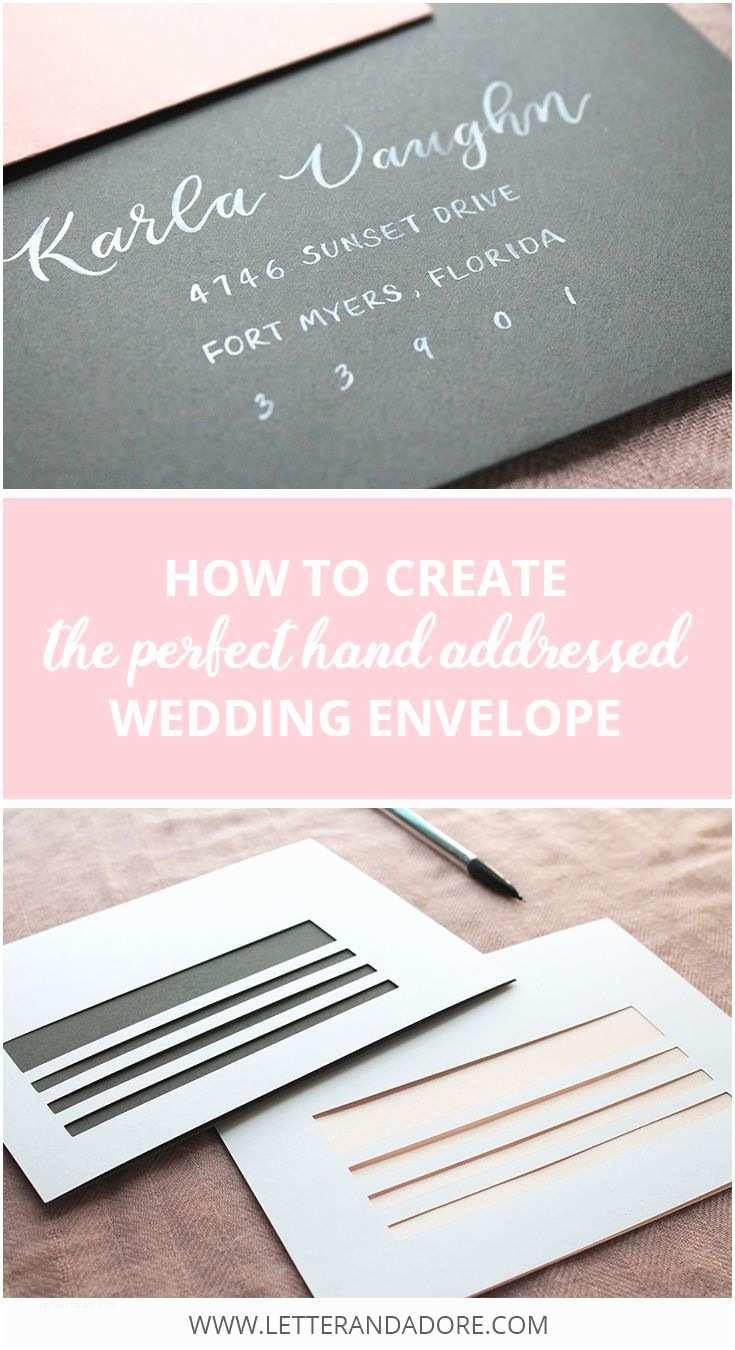 Wedding Invitation Envelopes 25 Best Ideas About Envelope Addressing On Pinterest