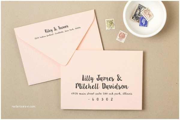 Wedding Invitation Envelopes 25 Examples Of Invitation Envelopes