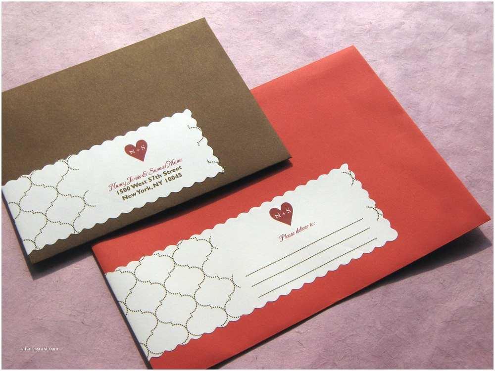 Wedding Invitation Envelopes Jazzing Up Invitation Envelopes