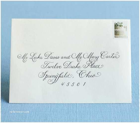 Wedding Invitation Envelopes Wedding Invitation Envelope Etiquette