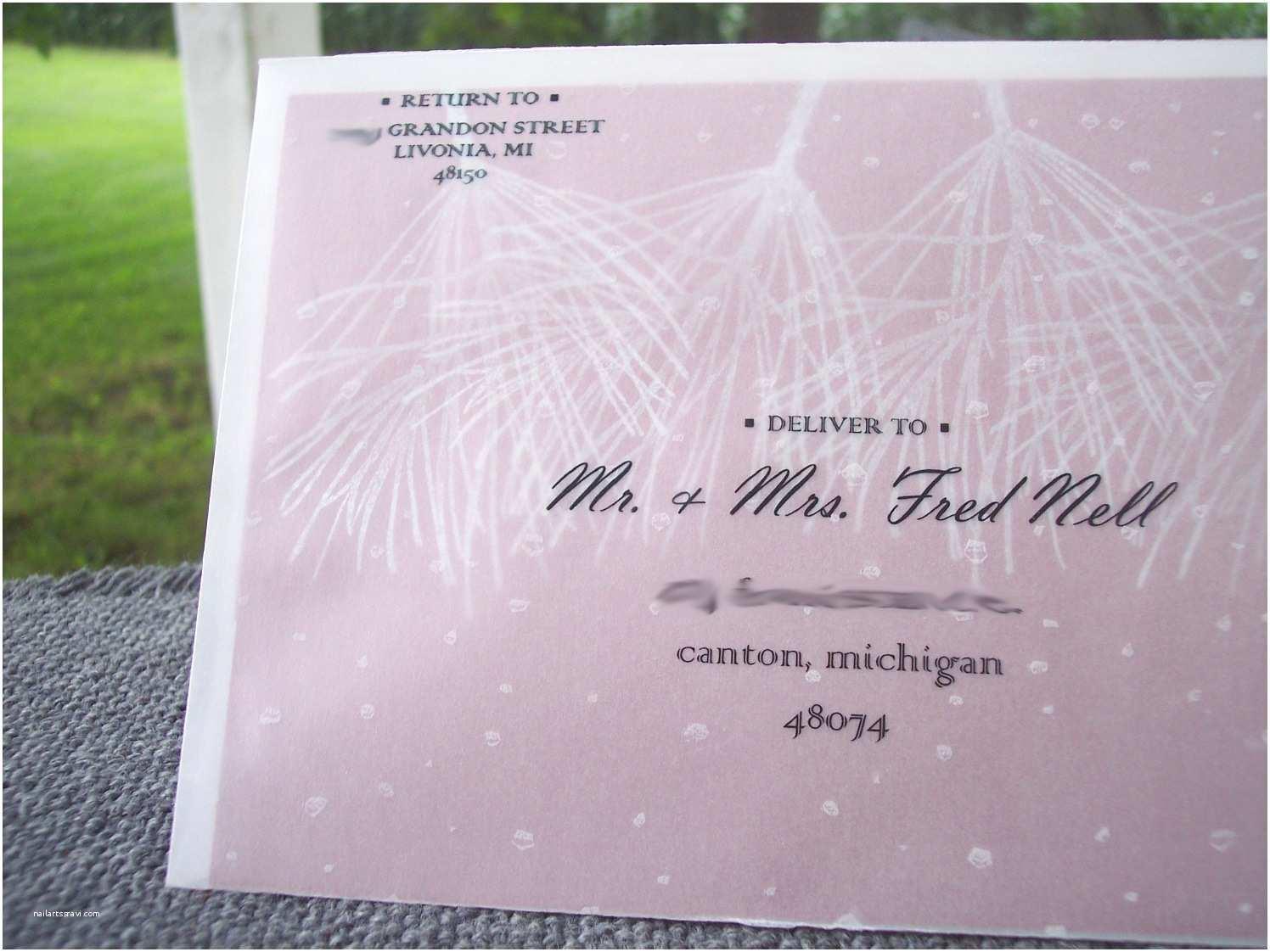 Wedding Invitation Envelopes Winter Holiday Wedding Invitations Cranberry Black