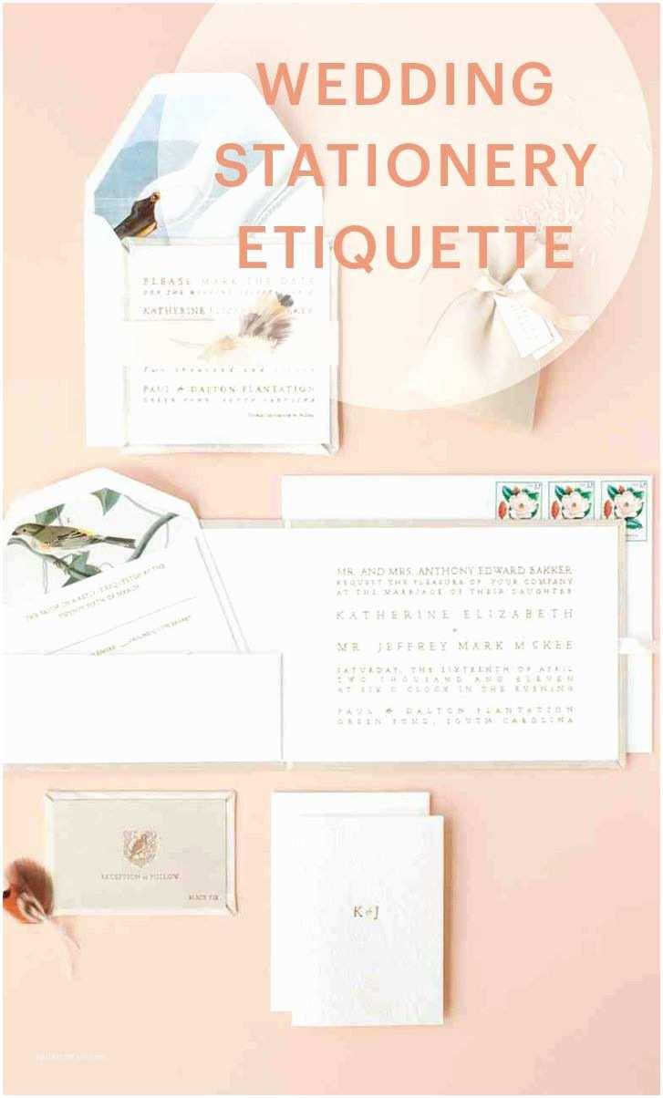 Wedding Invitation Etiquette 17 Best Ideas About Wedding Stationery Etiquette On