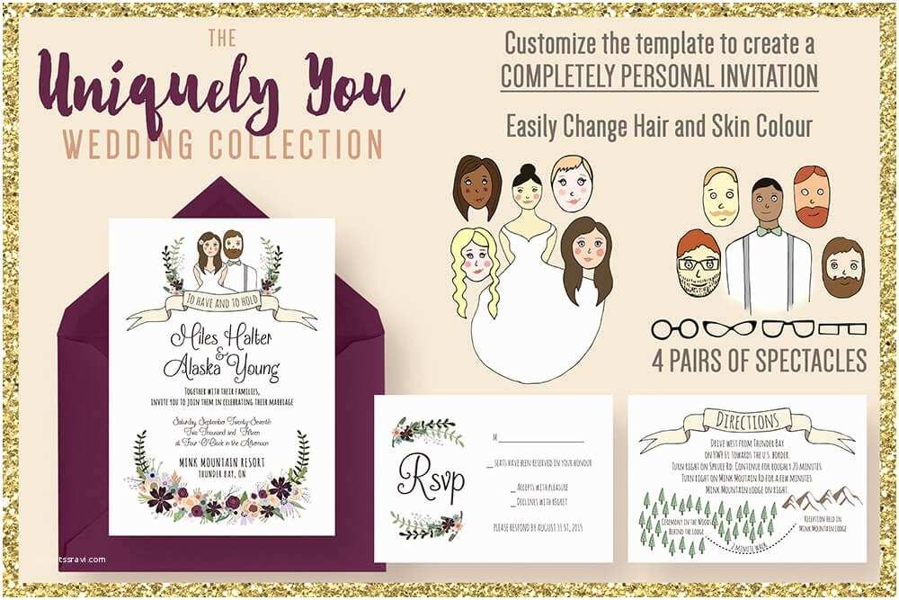 Wedding Invitation Examples 60 Creative Wedding Invitation Examples & Ideas