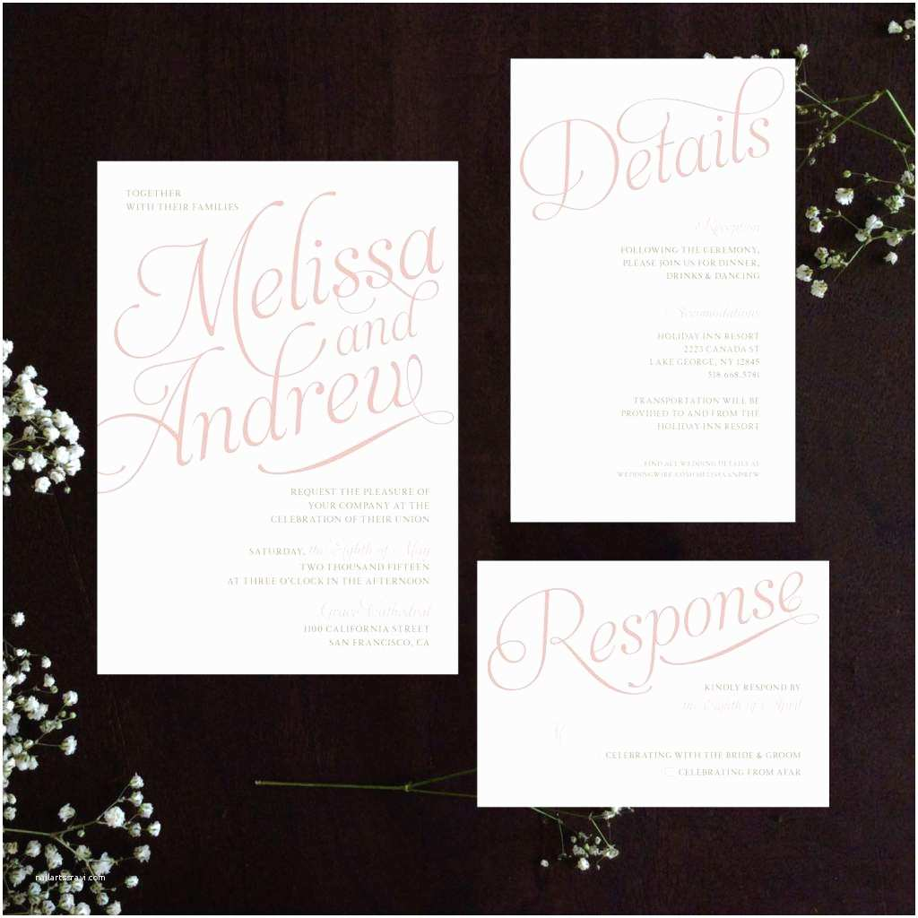 Wedding Invitation Examples Wedding Invitation Wording Templates From Bride and Groom