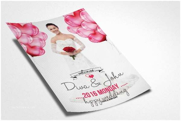 Wedding Invitation Flyer Template 22 Wedding Flyer Templates