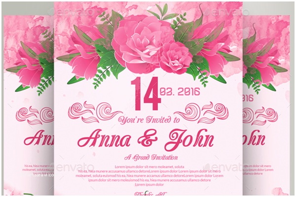 Wedding Invitation Flyer Template 24 Lunch Flyer Templates Free Invitation Design Ideas