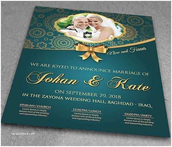 Wedding Invitation Flyer Template Invitation Flyer Template