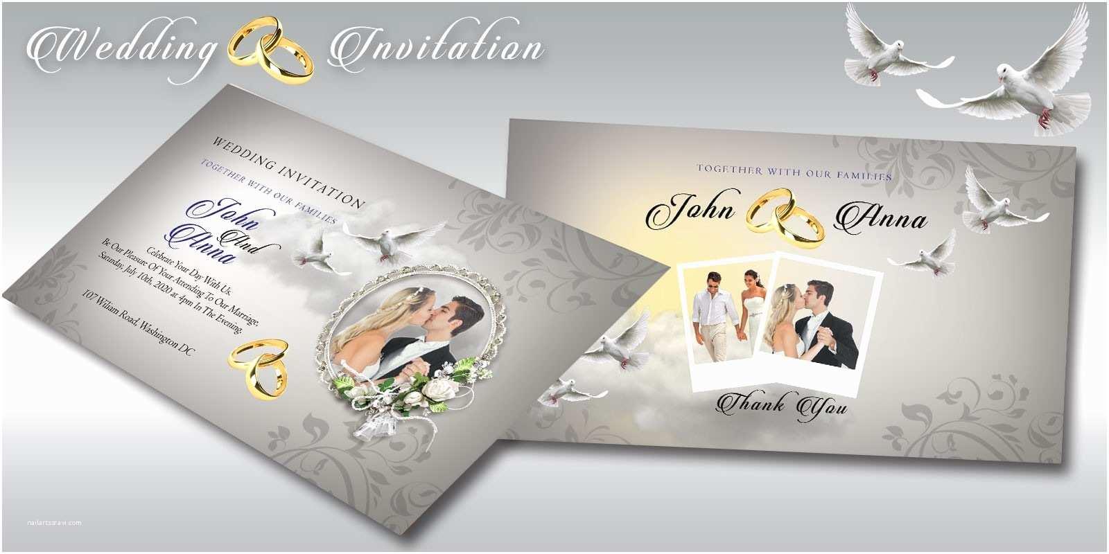 Wedding Invitation Flyer Template Wedding Invitation Flyer Template Miscellaneous Print
