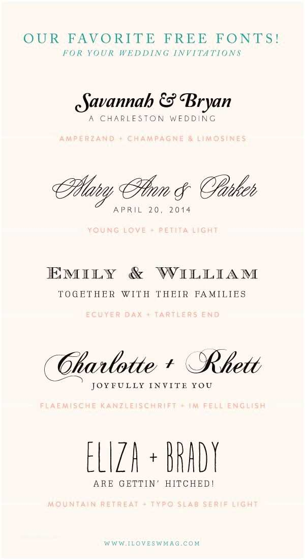 Wedding Invitation Fonts 18 Best Images About Typography On Pinterest