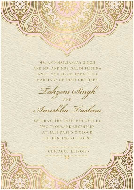 Wedding Invitation For Indian Wedding Best 25 Indian Wedding Cards Ideas On