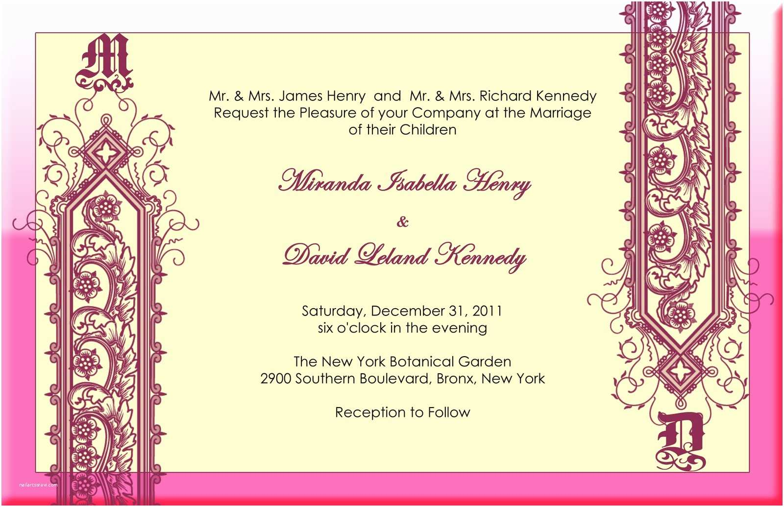 Wedding Invitation for Indian Wedding Felicia S Blog Modern Indian Wedding