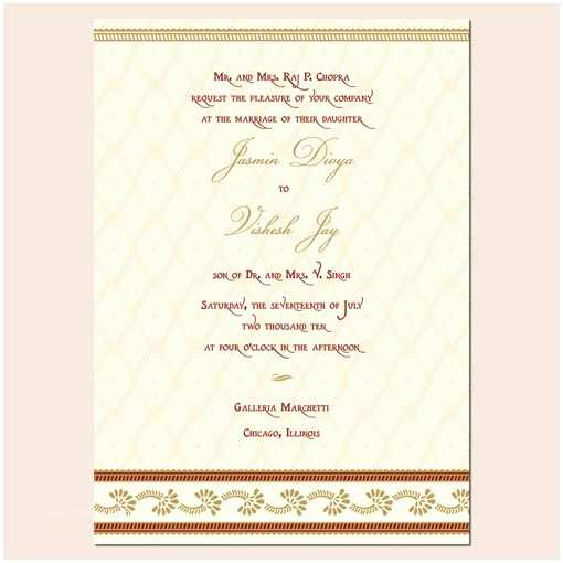 Wedding Invitation for Indian Wedding Indian Wedding Invitation Template Shaadi