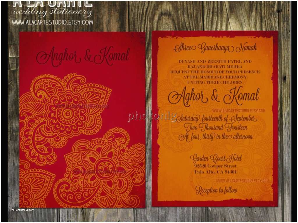Wedding Invitation for Indian Wedding Indian Wedding Invitation Wording Wedding Invitation