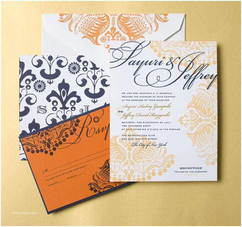Wedding Invitation for Indian Wedding Indian Wedding Invitations by Cheree Berry