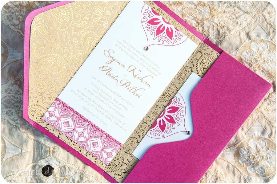 Wedding Invitation for Indian Wedding south Indian Wedding Invitation