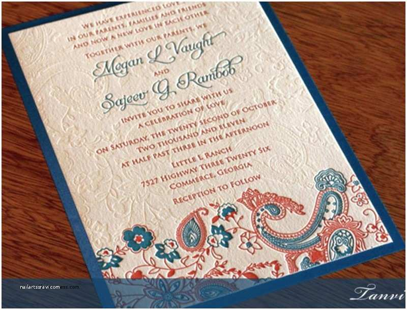 Wedding Invitation for Indian Wedding Wedding Invitation Unique Wedding Invitation Wording for
