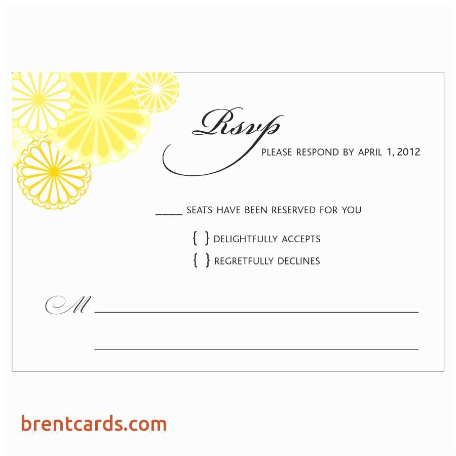 Wedding Invitation form Rsvp Full form In Wedding Cards