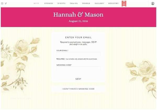 Wedding Invitation Form Wedding Rsvp Website Human Anatomy