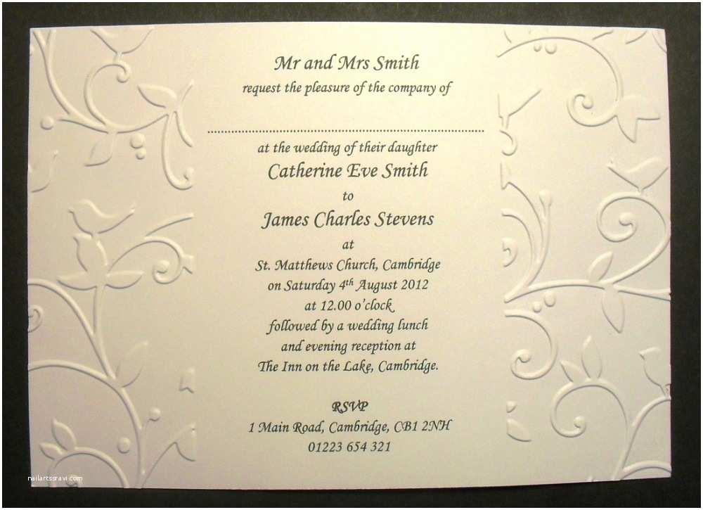 Wedding Invitation format Wedding Invitation Wording Both Parents In Spanish