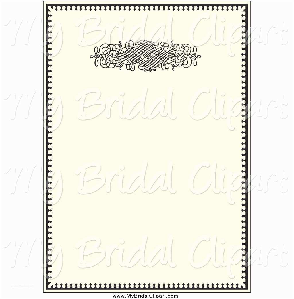 Wedding Invitation Frame 62 Invitation Frames Clip Art