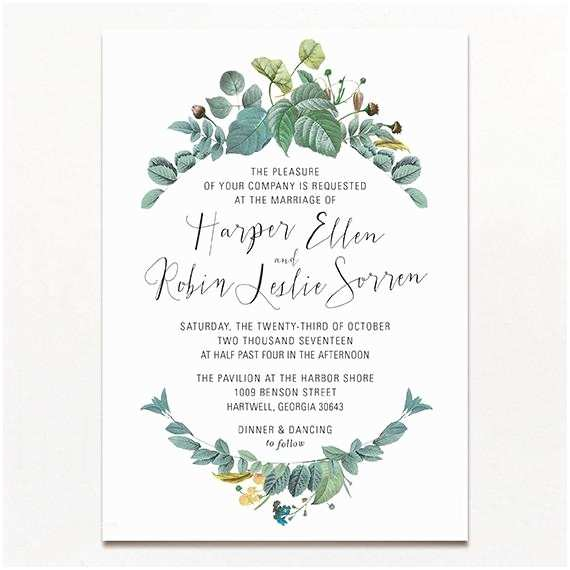 Wedding Invitation Frame Delicately Framed Wedding Invitation
