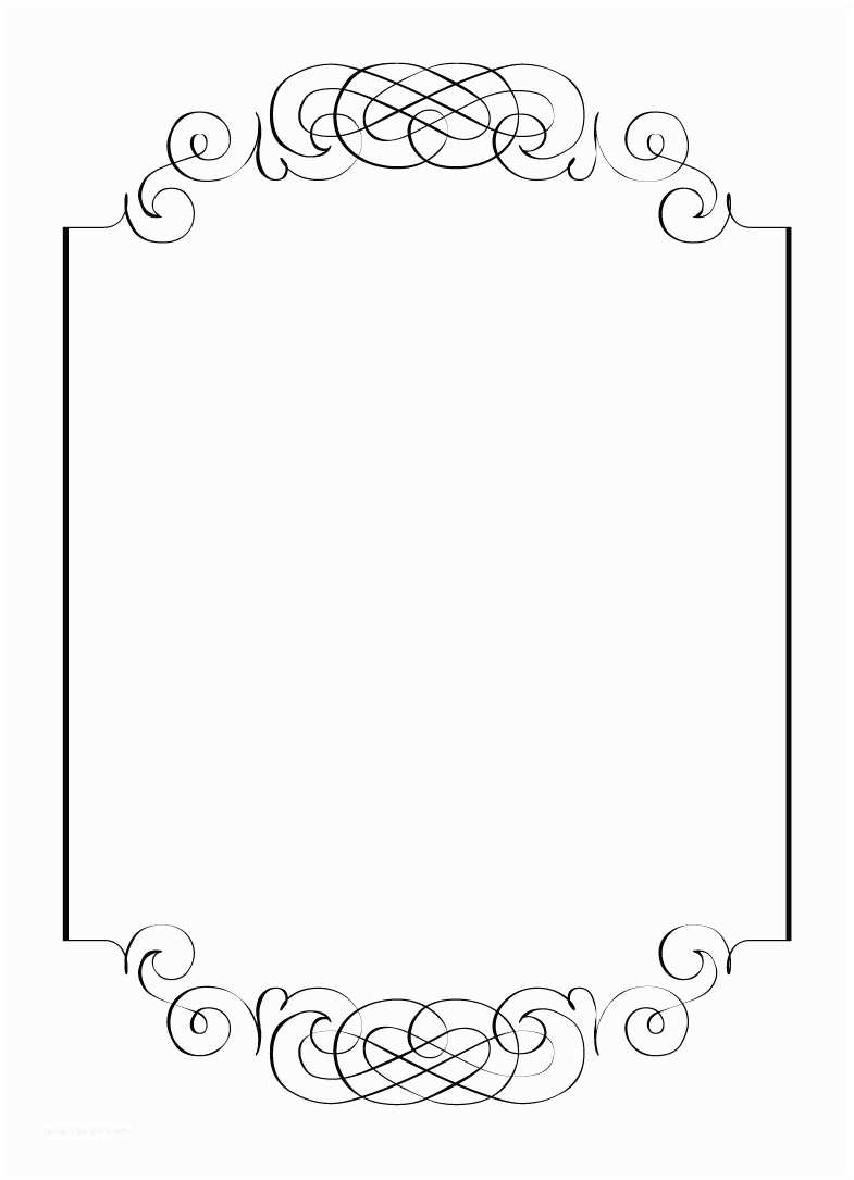 Wedding Invitation Frame Free Vintage Clip Art Images Calligraphic Frames and Borders