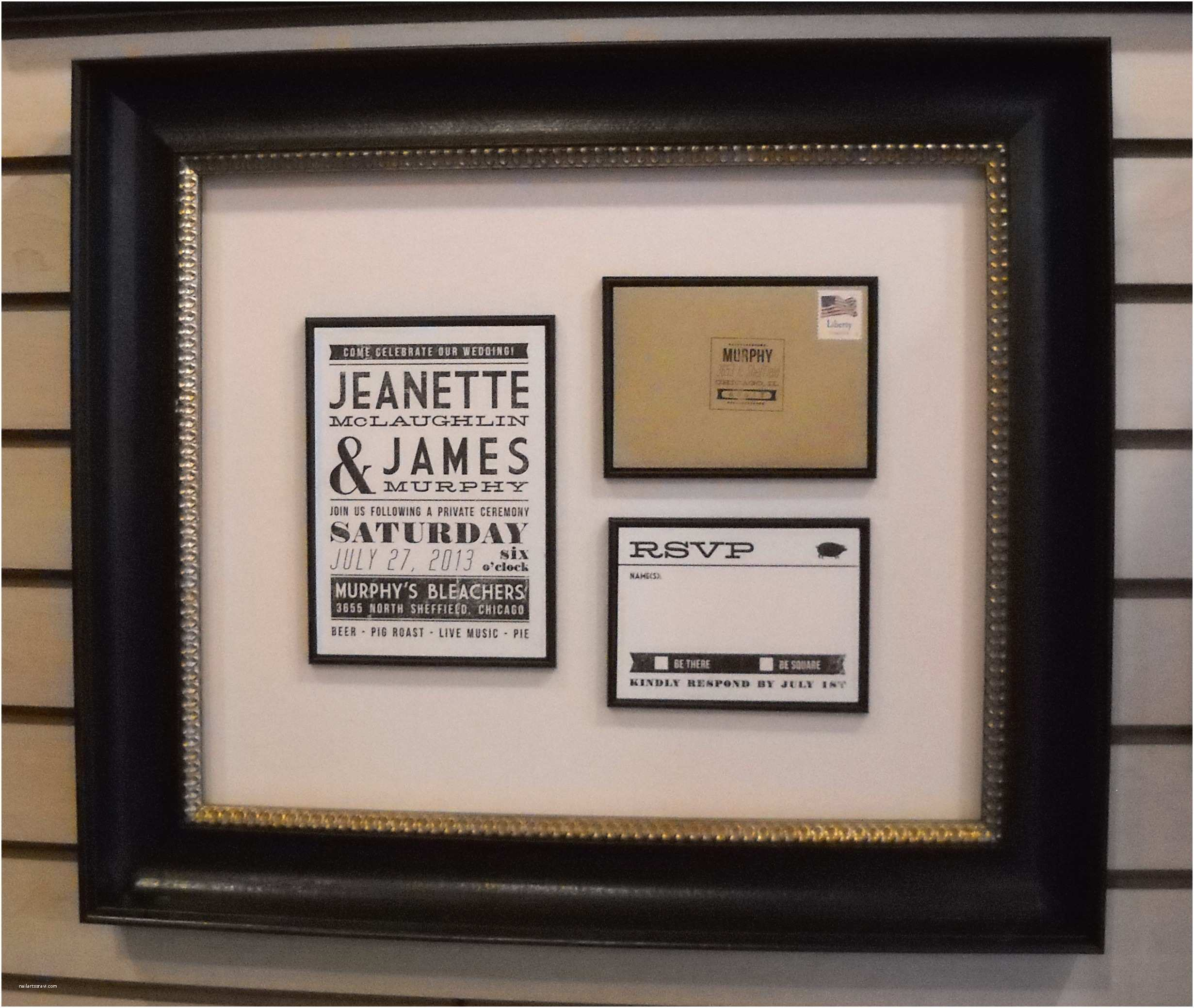 Wedding Invitation Frame Mind Blowing Framed Wedding Invitation which Suitable for