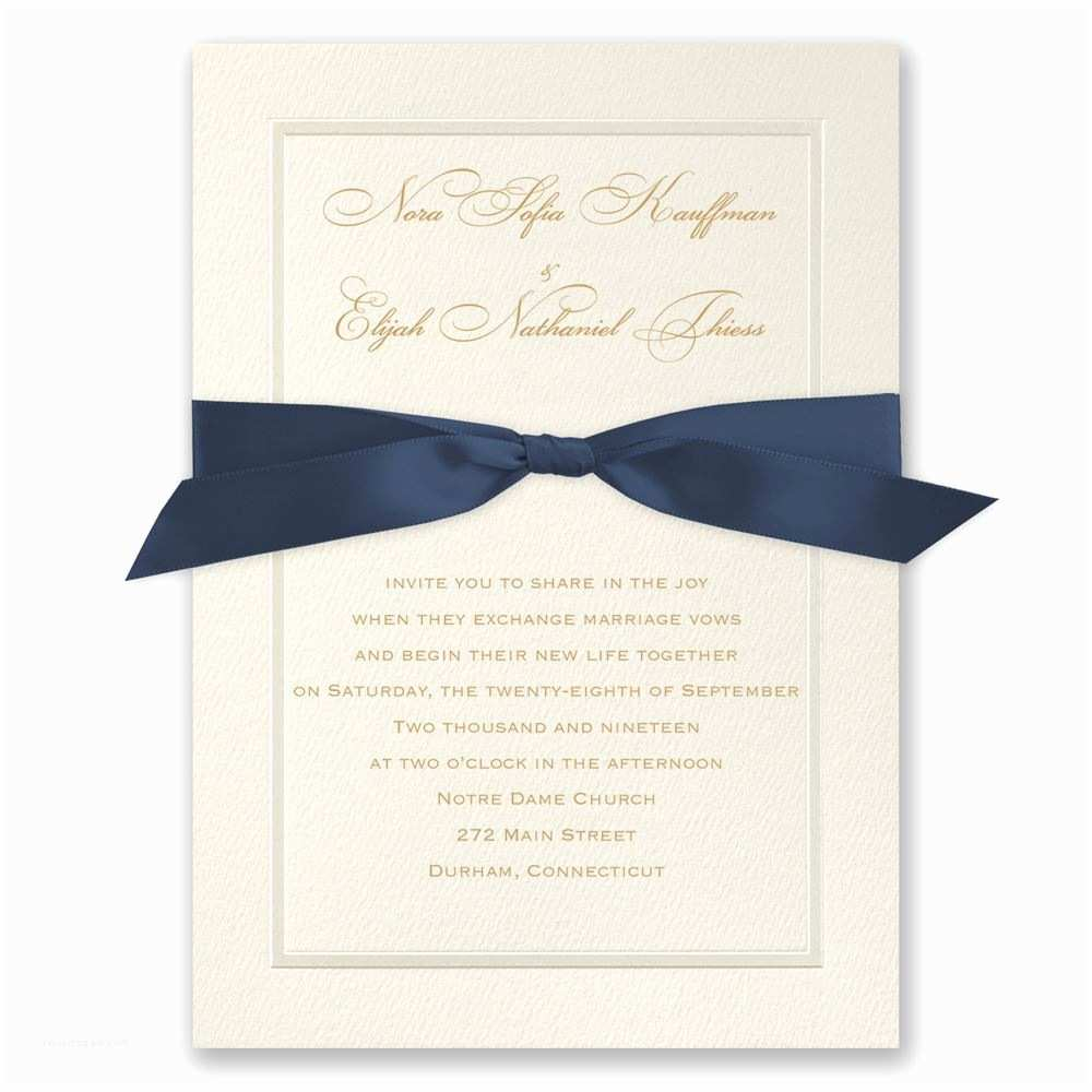 Wedding Invitation Frame Pearl Frame Invitation