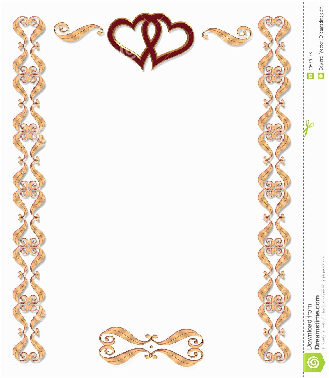 Wedding Invitation Frame Wedding Invitation Borders Clip Art for Free – 101 Clip Art
