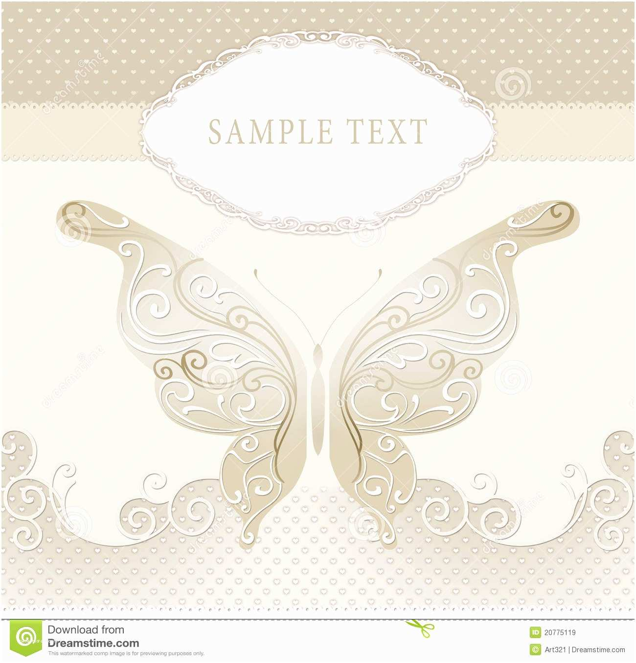 Wedding Invitation Frame Wedding Invitation Frame Stock Illustration Image Of