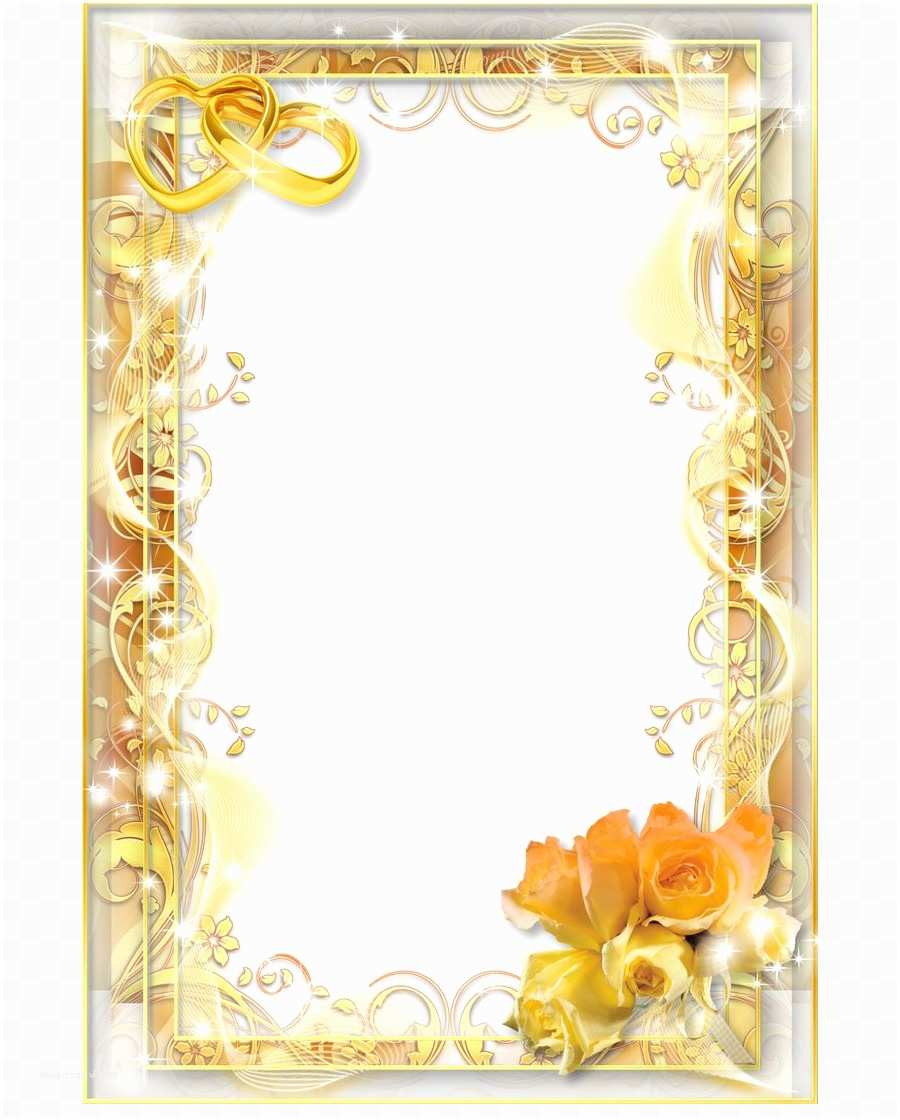 Wedding Invitation Frame Wedding Invitation Picture Frames Clip Art Wedding