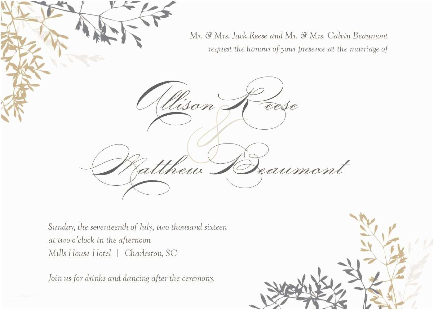 Wedding Invitation Free Download Wedding Invitation Wedding Invitations Template Superb