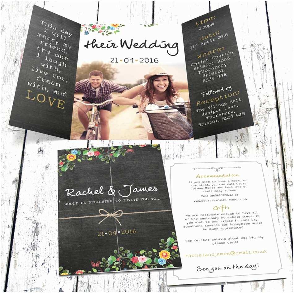 Wedding Invitation Ideas Bohemian Wedding Invitations
