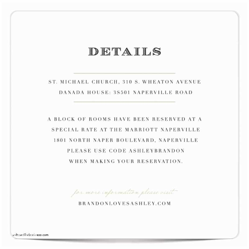 Wedding Invitation Information Card Wedding Invitation Awesome Wedding Invitation