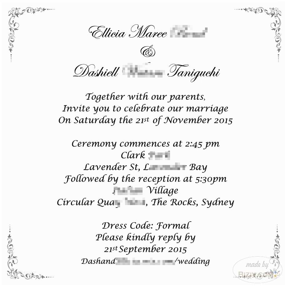 Wedding Invitation Insert Templates  Author At  Promotional Products