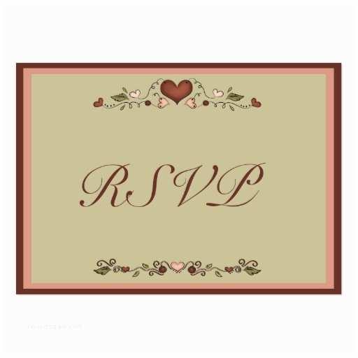 Wedding Invitation  Templates Blooming Hearts Wedding Invitation Rsvp