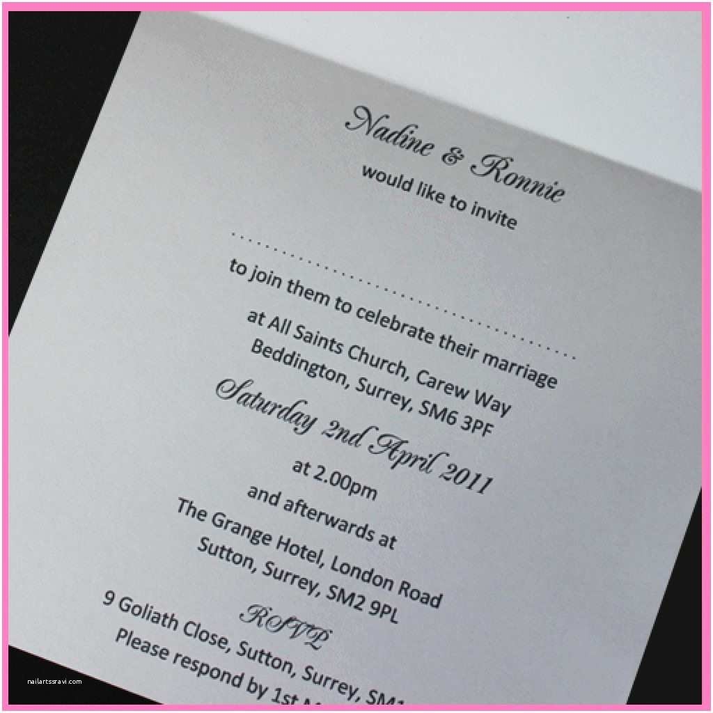 Wedding  Insert Templates Card  Ideas Template For Wedding