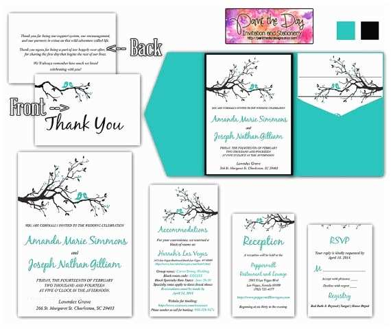 wedding invitation insert templates