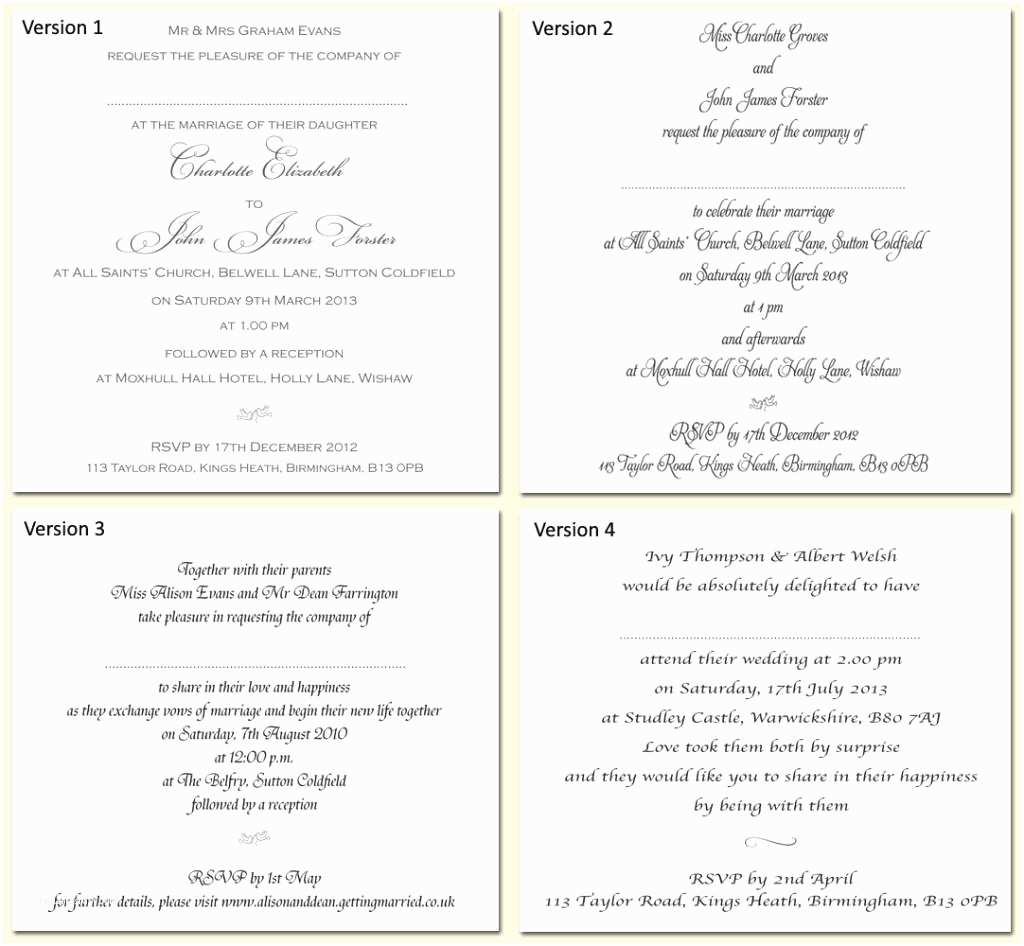 Wedding Invitation Insert Templates Wedding Invitation Fonts – Gangcraft