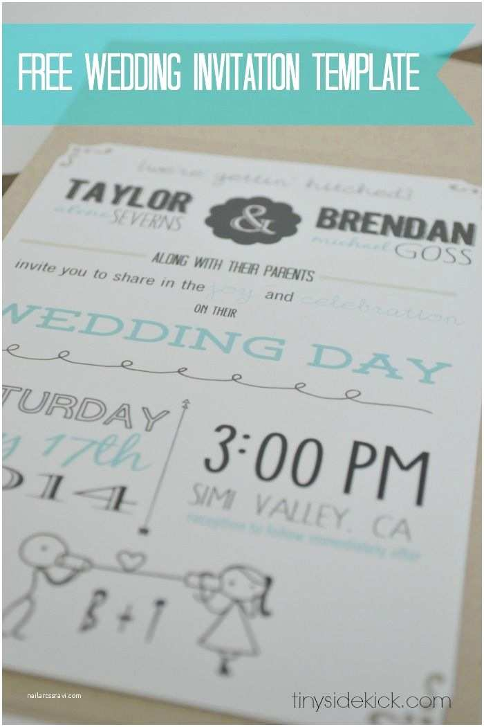 Wedding Invitation Inserts Free Wedding Invitation Template with Inserts