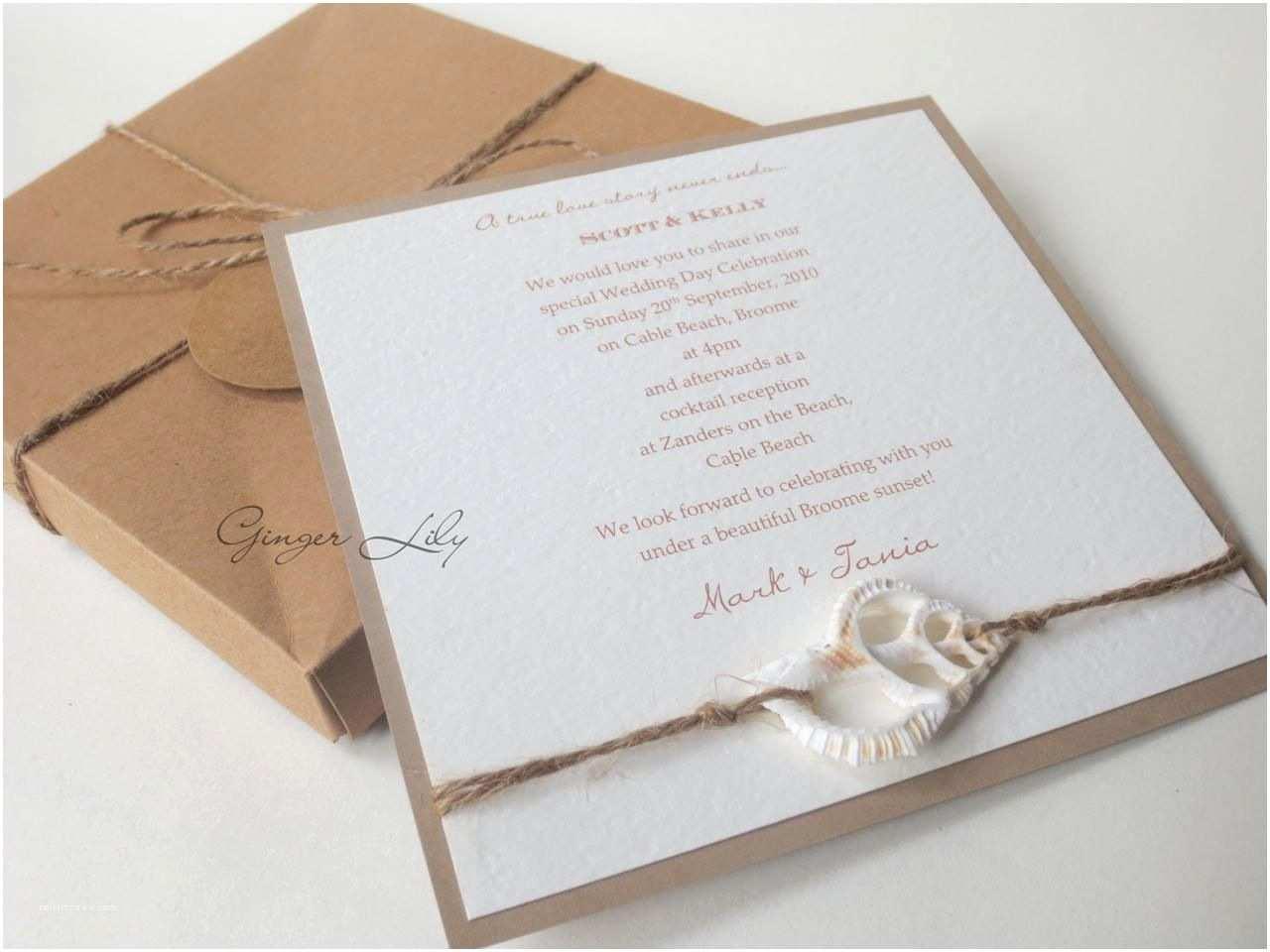 Wedding Invitation Kits Beach Wedding Invitation Sets Diy Wedding Invitation