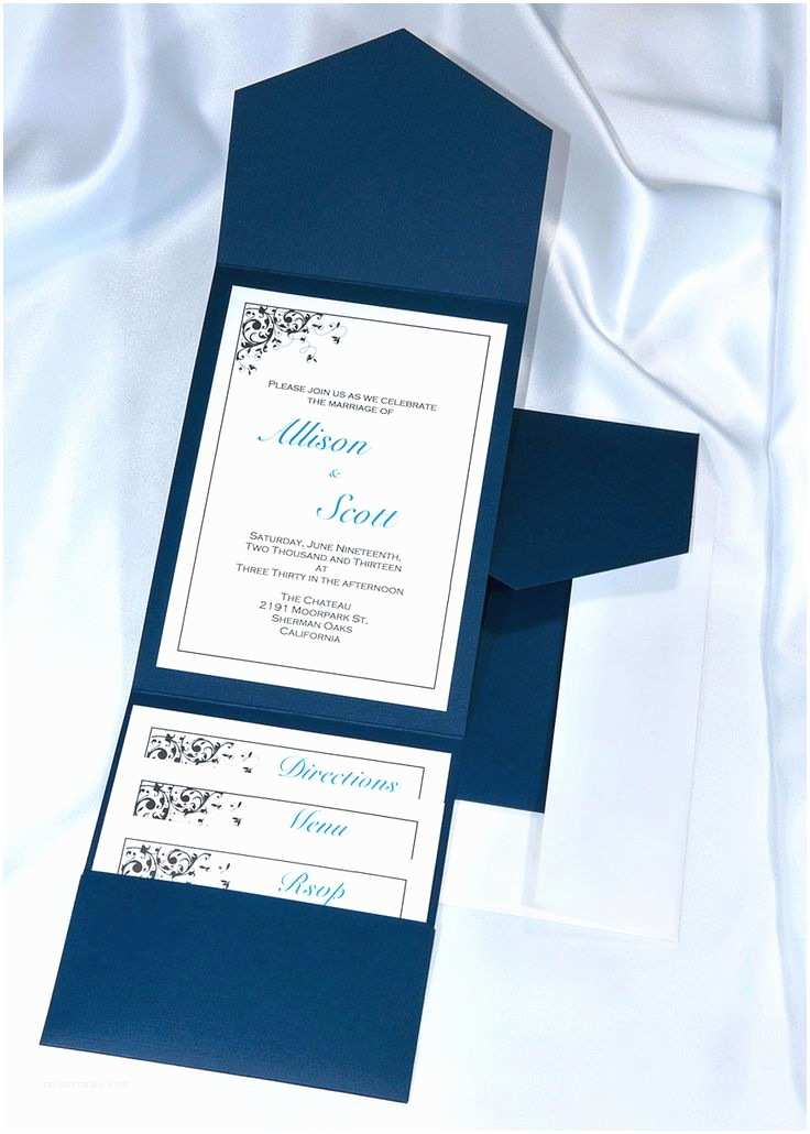 Wedding Invitation Kits Best 25 Blue Wedding Invitations Ideas On Pinterest